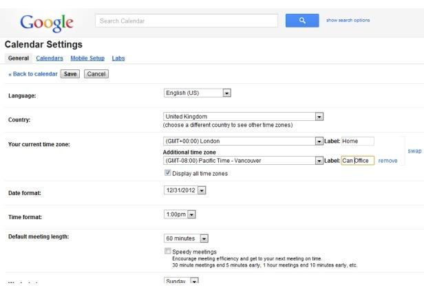 10 tips para exprimir el Google calendar