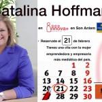 Catalina Hoffman …sabe emprender. en Mallorca el 21 F.