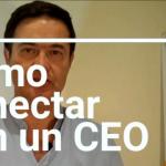 Cómo contactar con un CEO