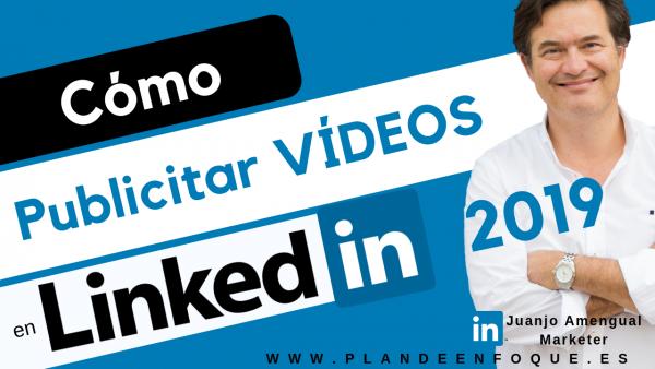 Cómo publicitar un vídeo en Linkedin