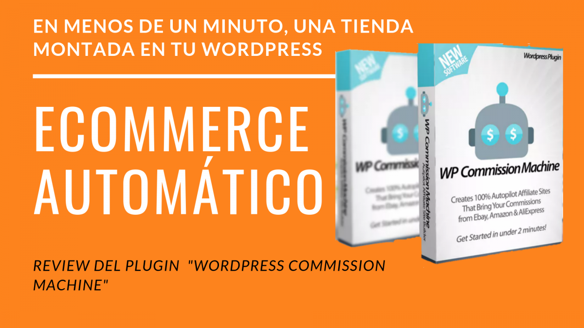 "Review de "" WordPress Commission machine"" 