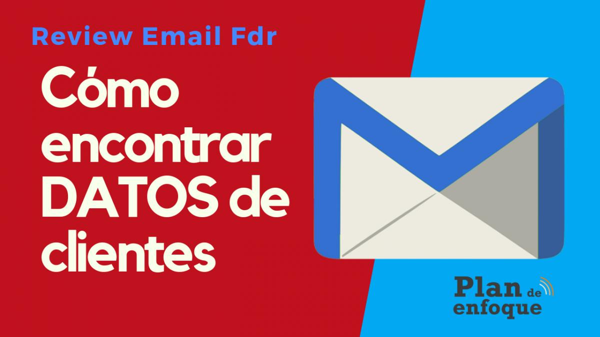 Cómo encontrar el email profesional de alguien en un click | EmailFindr Review |