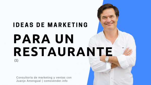 Ideas de marketing para un restaurante