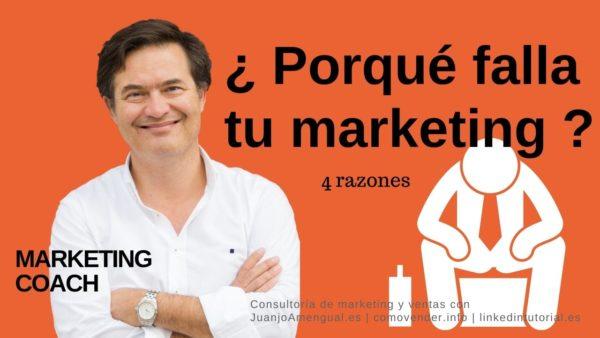 4 Errores comunes en marketing