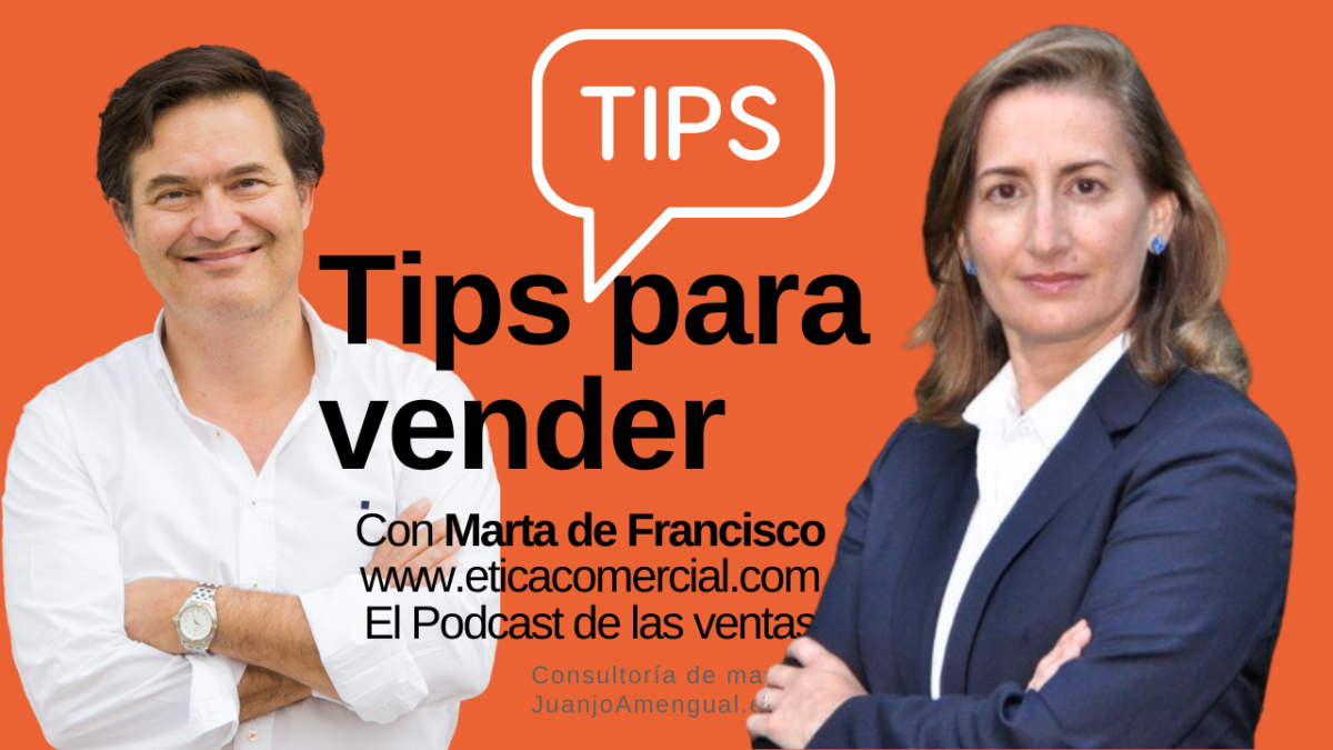 Tips de ventas , con Marta de Francisco