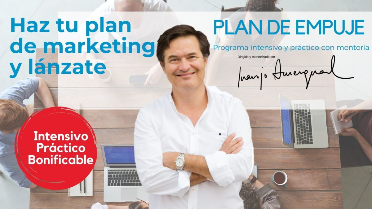Lanza tu plan de marketing con mentoría y vende en el mundo digital
